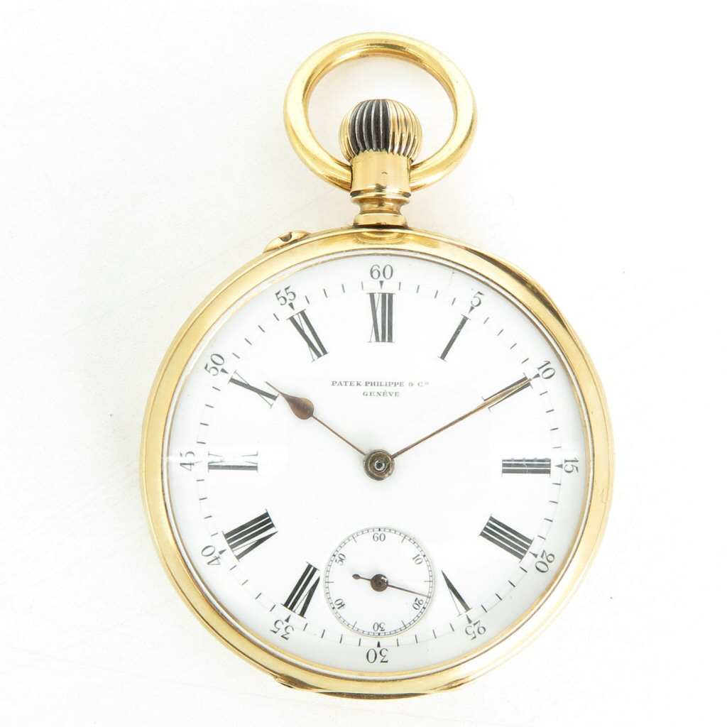 18KG Patek Philippe & Co Pocket Watch 1887