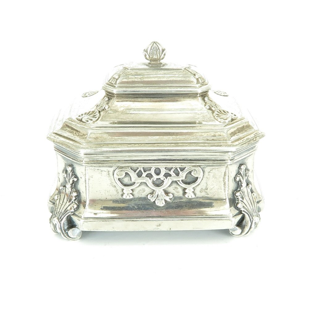 Dutch Silver Tobacco Box