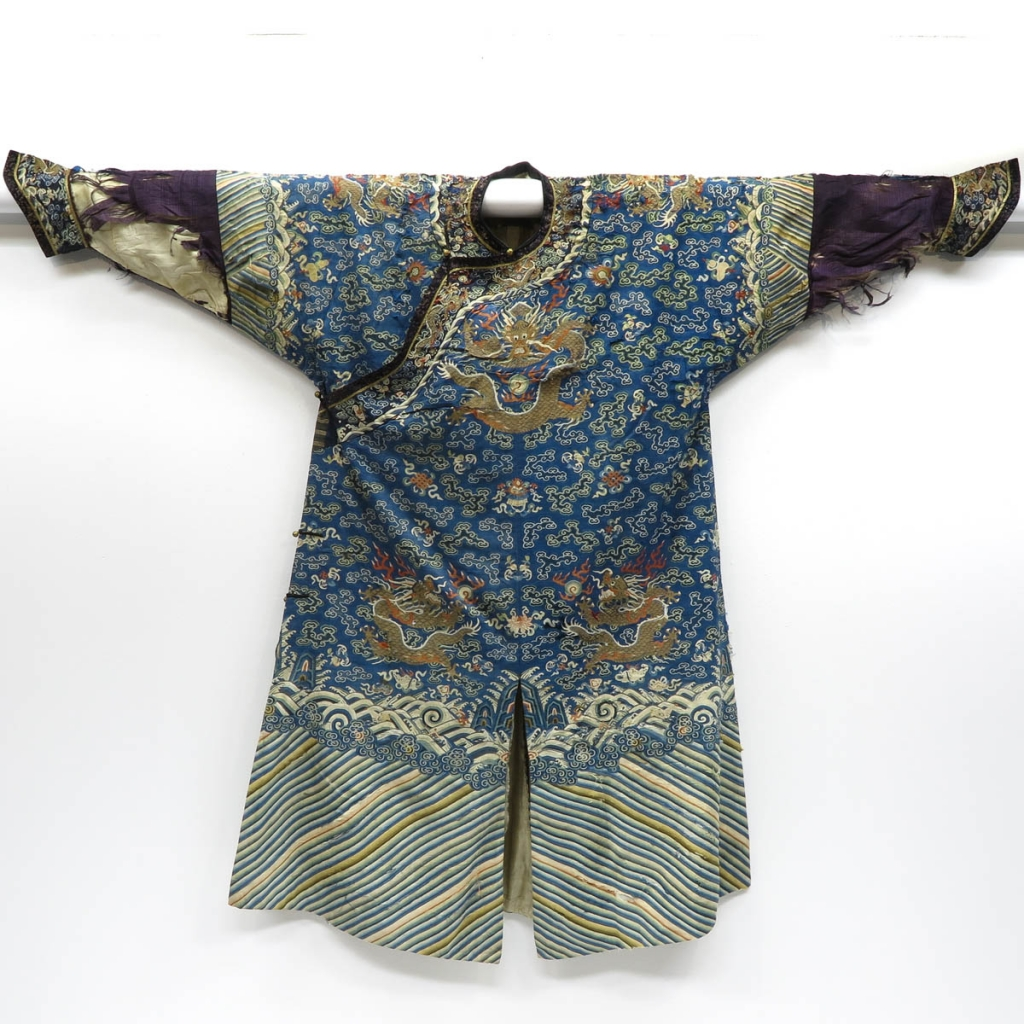 19th Century Imperial Embroidered Silk Chinese Jacket